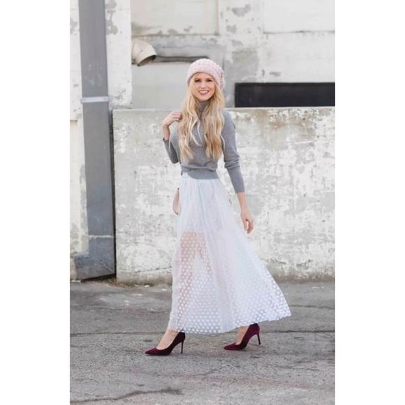 373864fa2 Free People Skirts | Nwt Dreaming Of You Maxi Tutu Skirt | Poshmark